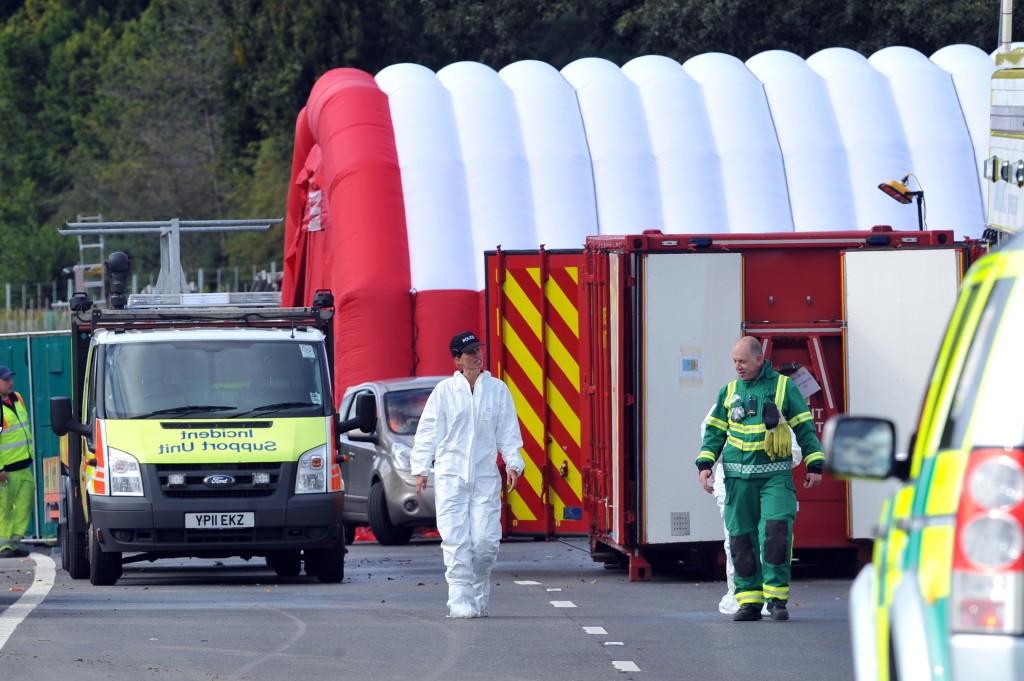 Hindhead coach crash