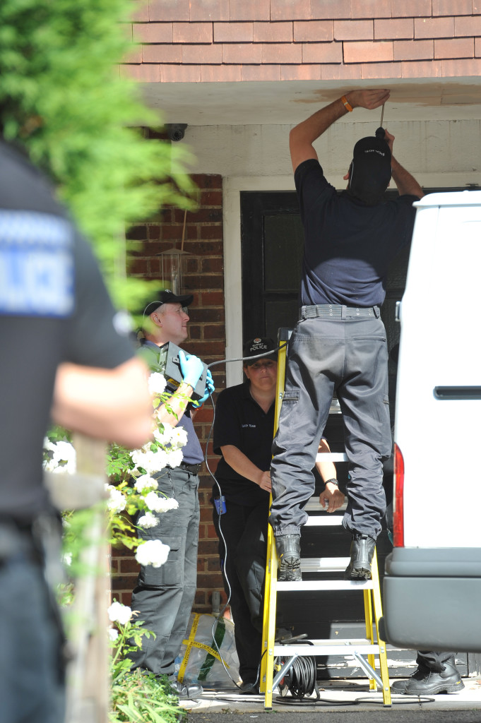 More police activity At Saad Al-Hilli's Claygate home