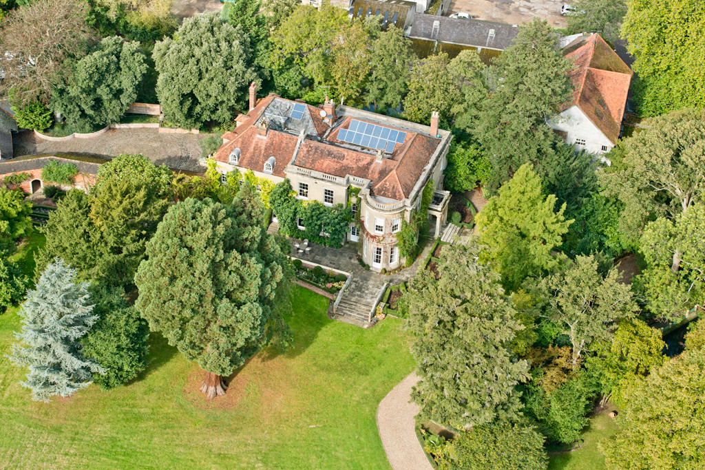 George Clooney's New Mansion - Aerial Pictures