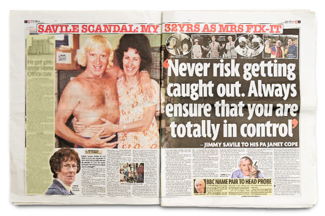 Janet Cope, former PA to Jimmy Savile in the Daily Mirror