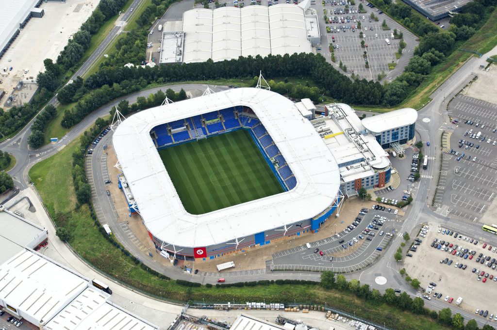 Madejski Stadium Aerial