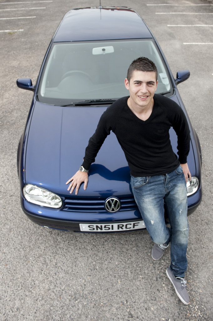 Sonny Brazil bought the Dutchess of Cambridge, Kate Middleton's old car