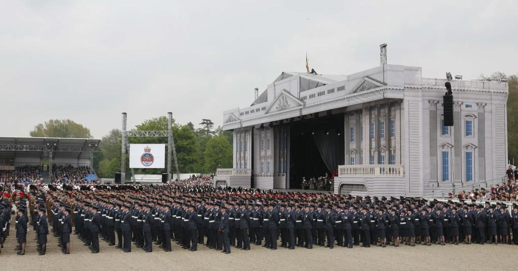 Diamond Jubilee celebrations in Windsor
