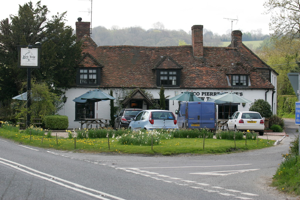 The Yew Tree Inn, near Newbury, Berkshire.
