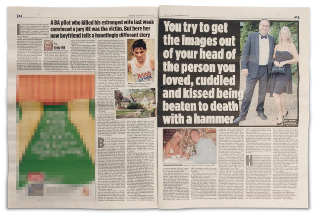 Andy Wilson featured in The Mail on Sunday. May 29, 2011
