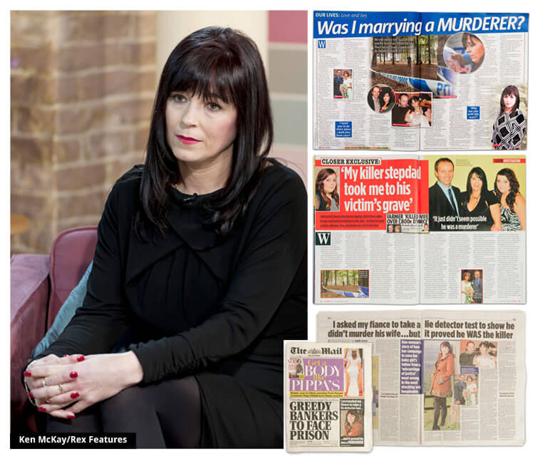 Debbie Garlick featured in The Mail on Sunday, Closer, Take a Break and on ITV's This Morning
