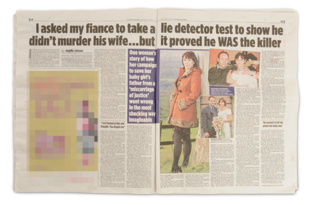 Debbie Garlick featured in The Mail on Sunday, January 8, 2012