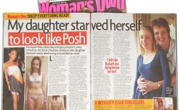 Rachael's story was featured in Woman's Own magazine in February 2010