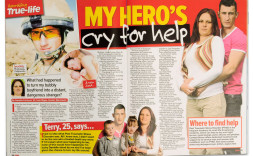Danielle Fairhurst featured in Chat magazine