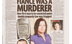 Helen Rusher in the Sunday Mirror, December 19, 2010