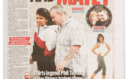 One hundred and matey, Sunday Mirror, April 10, 2011